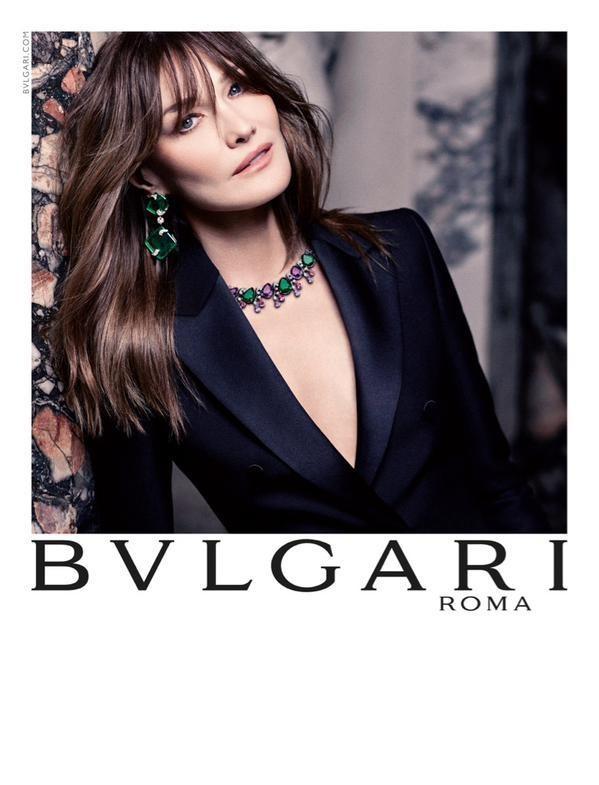 Carla Bruni Shines in Bulgari's Fall 2015 Campaign