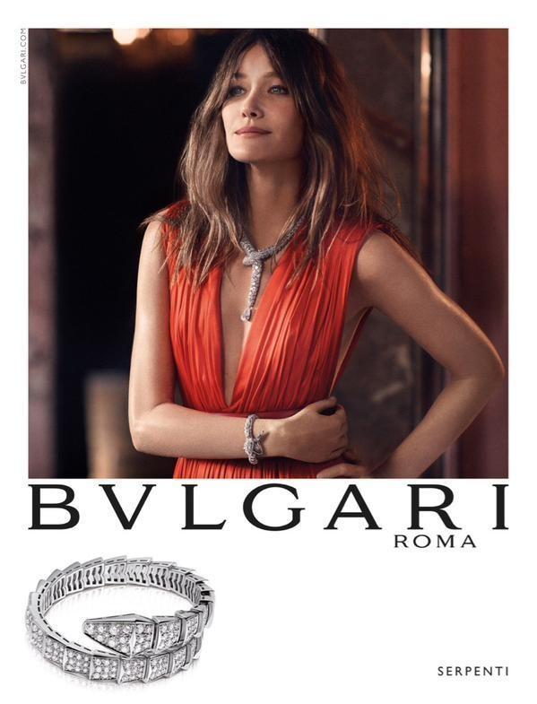 carla bruni shines in bulgari u2019s fall 2015 campaign