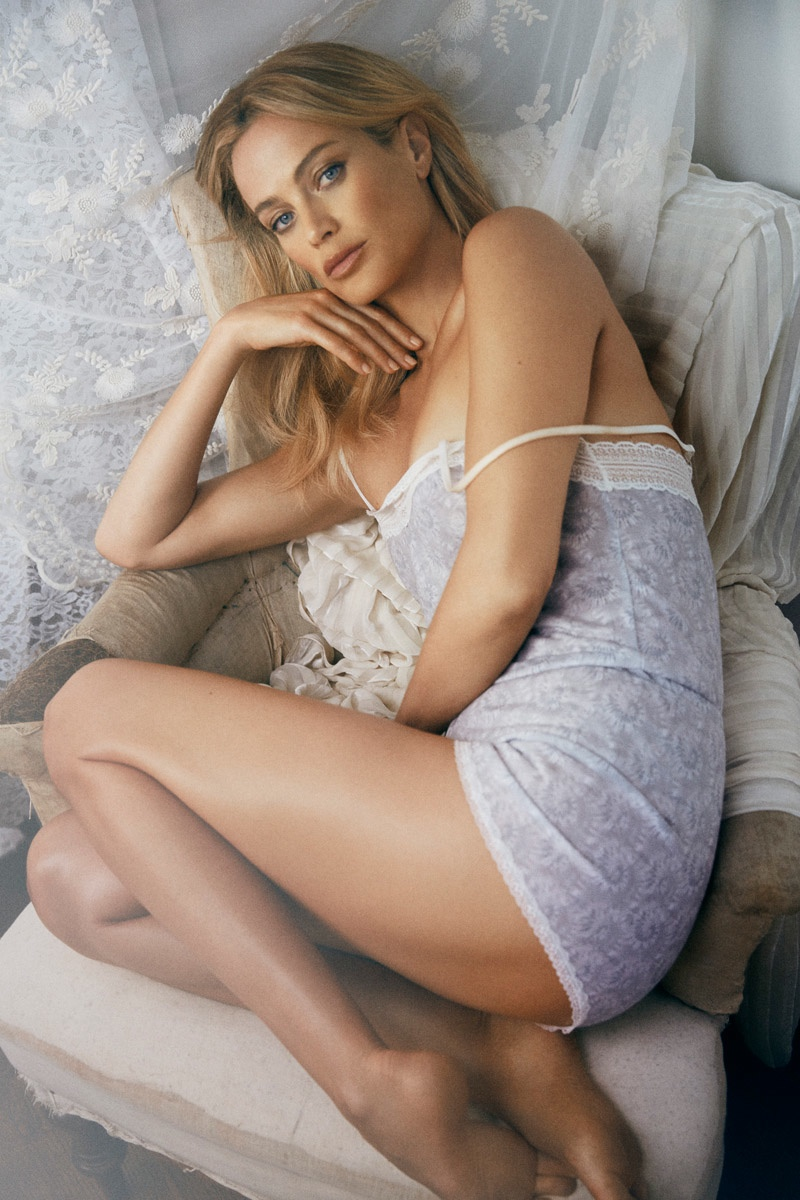 Carolyn Murphy Collaborates with Cheekfrills on Lingerie Collection
