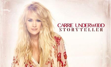 carrie Underwood on Storytell album cover artwork