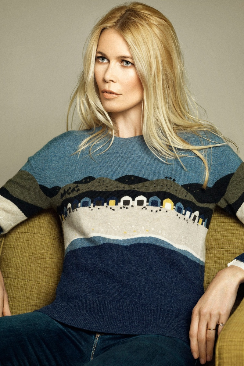 Claudia Schiffer Launches Cashmere Collection with Tse ...