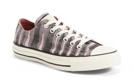Converse x Missoni Space Dye Sneaker for Women in Pink Freeze/Black Canvas