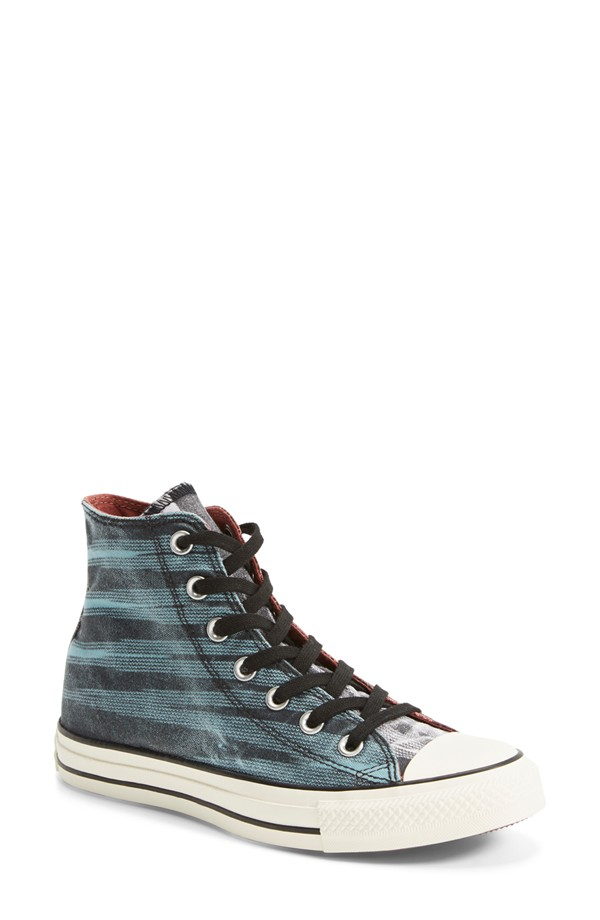 63b9d1a9fbd2 Converse x Missoni Space Dye High Top Sneaker for Women in Crab Apple Black  Canvas