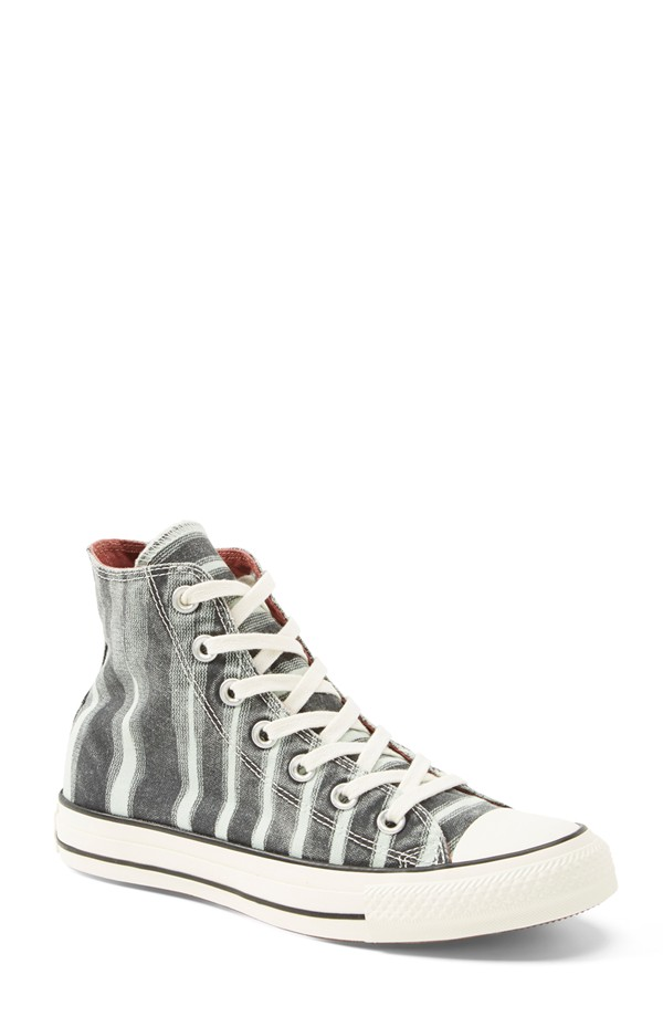 8554add3569d Converse x Missoni Space Dye High Top Sneaker for Women in Black Mint Julep  Canvas