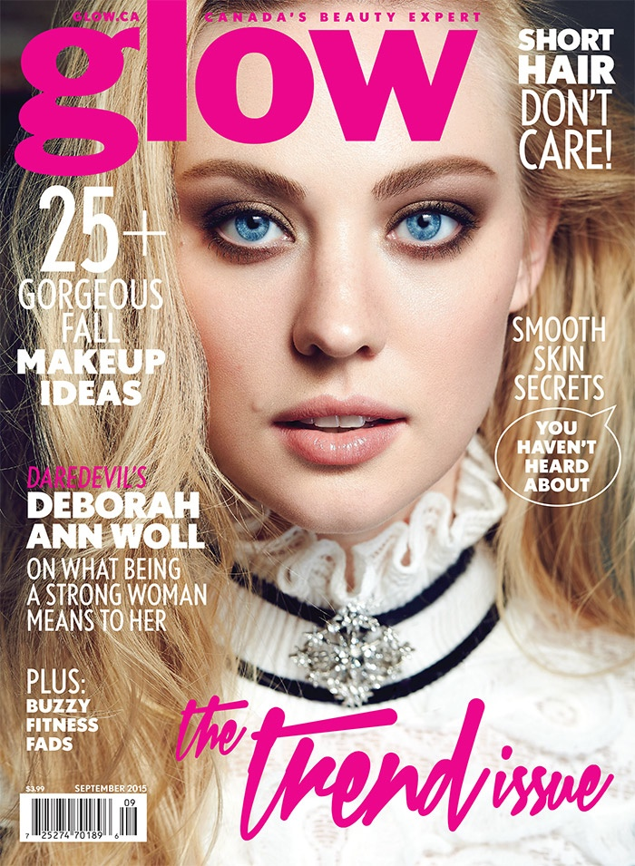 Deborah Ann Woll Glow September 2015 Cover Photoshoot01