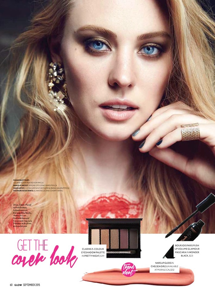 Deborah Ann Woll Glow September 2015 Cover Photoshoot04