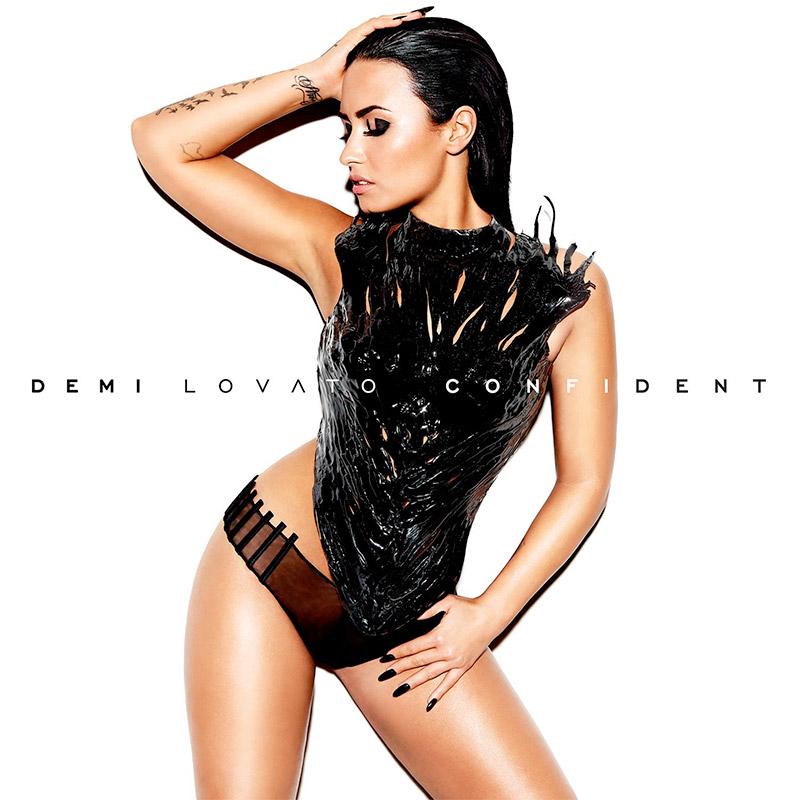 Demi Lovato on Confident album cover