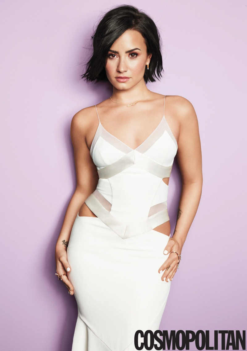 Demi Lovato Shines on Cosmopolitan's September Cover
