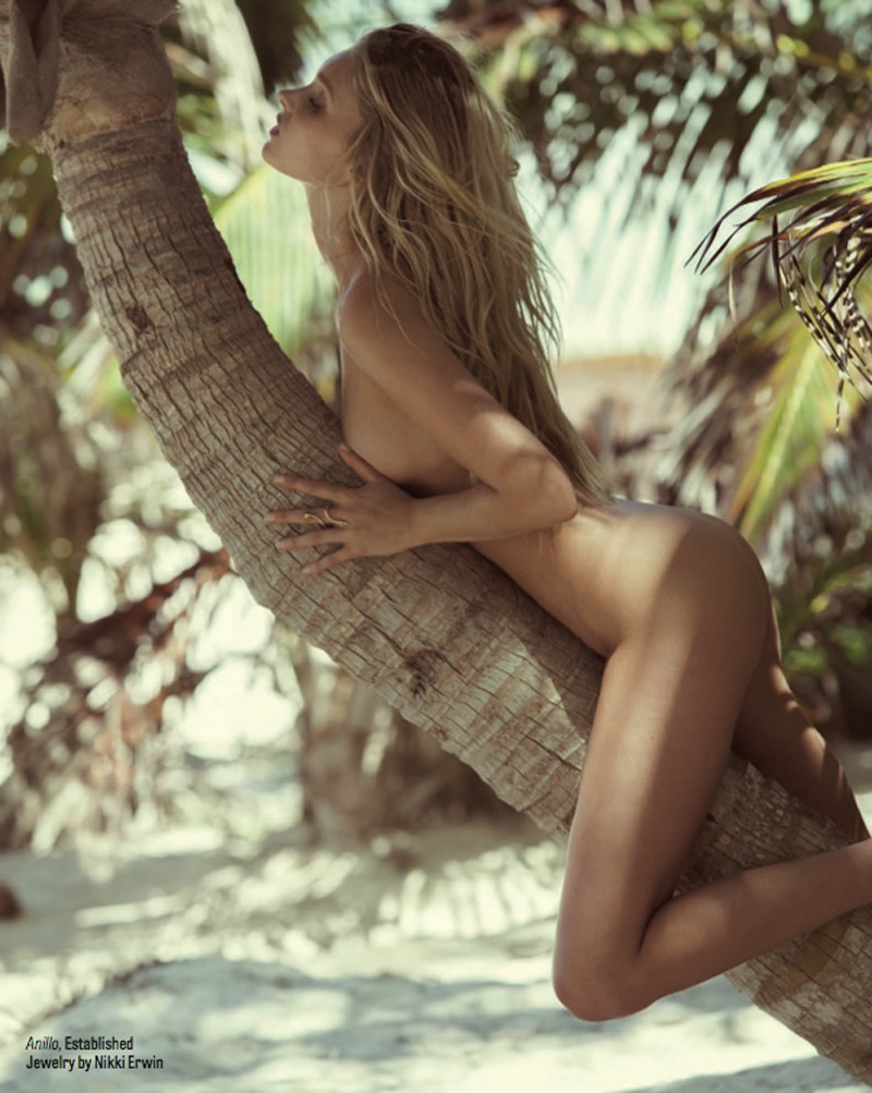 Elsa Hosk Poses for Dove Shore in Sexy GQ Mexico Editorial