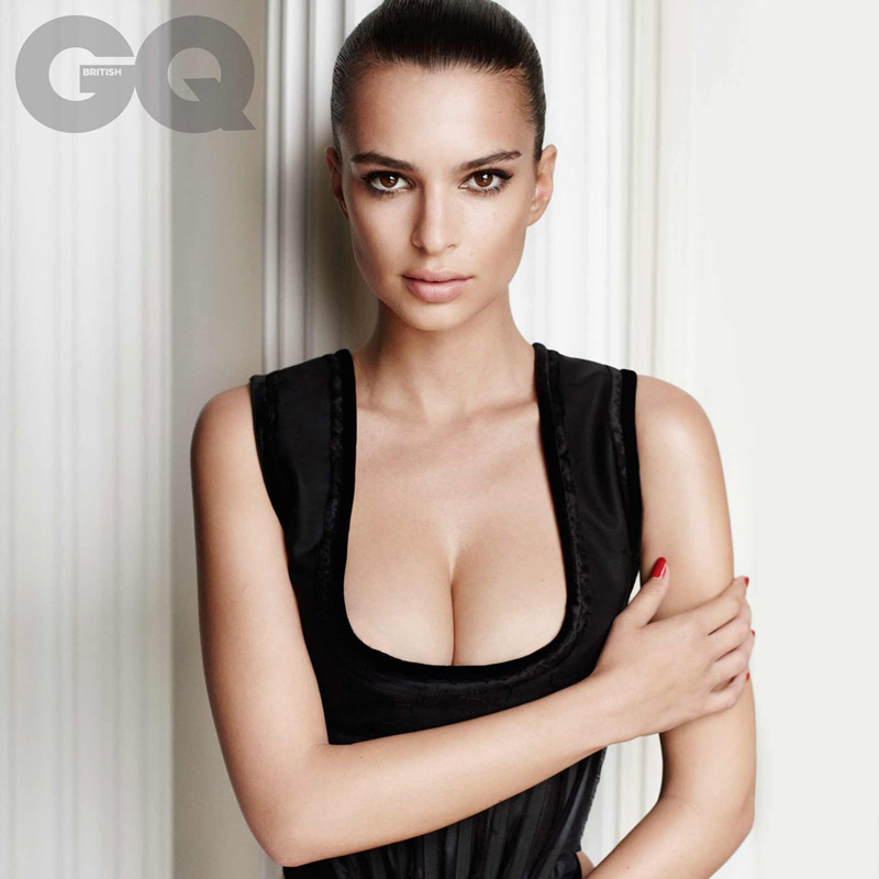 Emily Ratajkowski for British GQ September 2015 issue