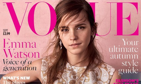 Emma Watson stars on September 2015 cover of Vogue UK