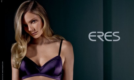 Eniko Mihalik for Eres lingerie fall-winter 2015 campaign