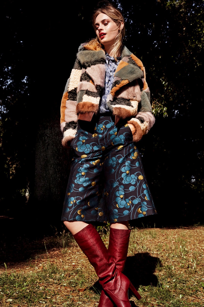 Paulina Heiler Takes On Bohemian Style For Elle Germany
