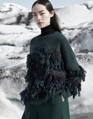 Fei Fei Sun Takes On Glacial Looks for COS' F/W 2015 Campaign