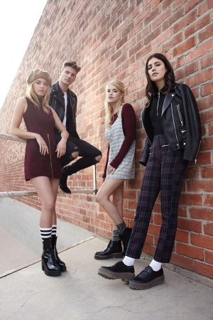 Ashley, Anna + Camille Go Back to School for Forever 21's Fall 2015 Ads