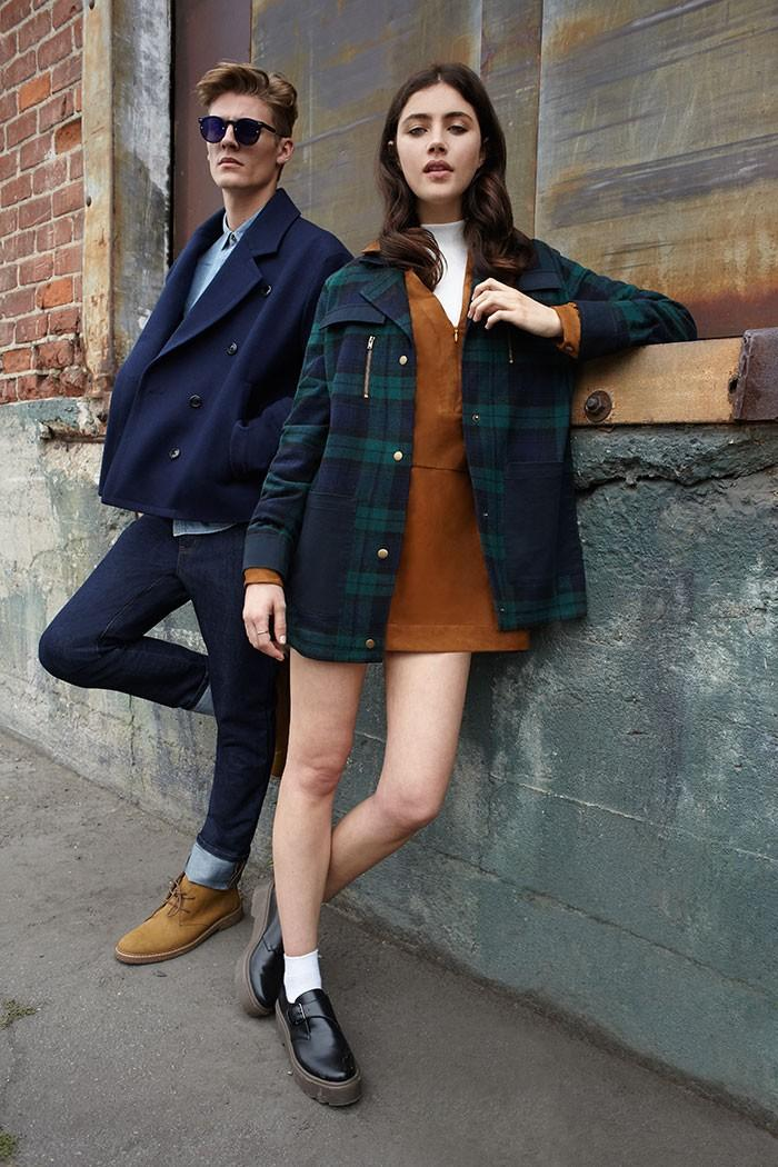 The fall campaign from Forever 21 spotlights back to the school style