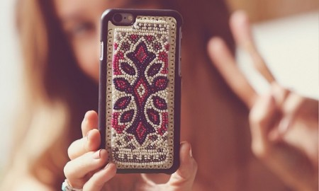 Free People Freda Beaded iPhone Case