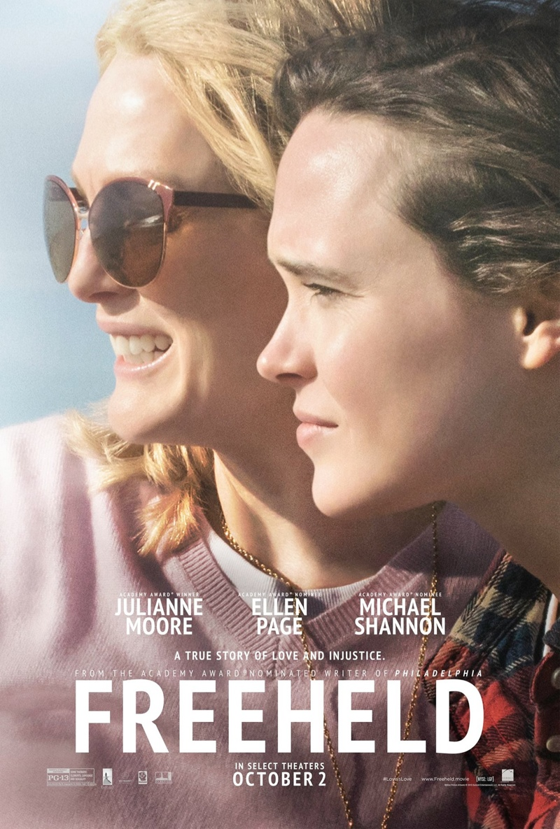 Final 'Freeheld' Movie Posters with Julianne Moore + Ellen Page