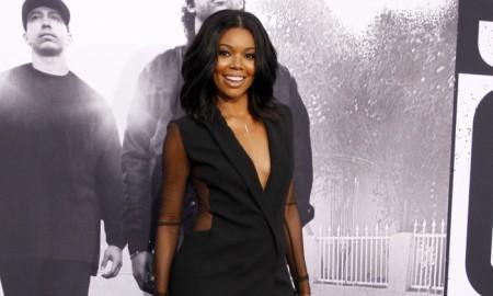 Gabrielle Union Straight Out Of Compton LA Premiere Akris Dress2