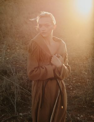 Gemma Ward is a Natural Beauty in Russh Cover Story