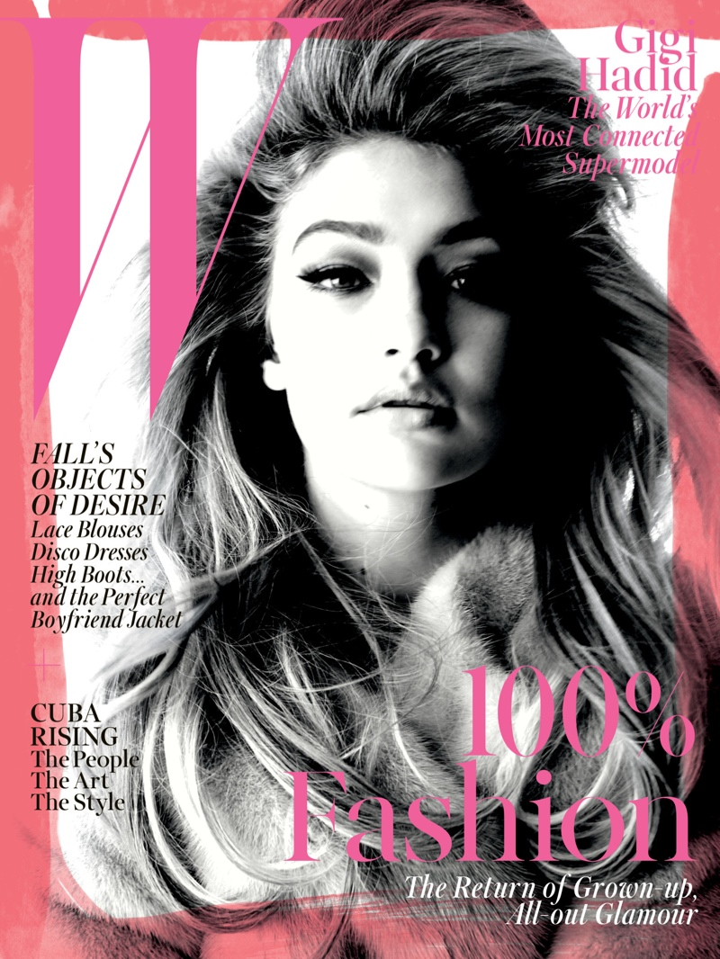 Gigi Hadid Poses for Steven Meisel in W Cover Story