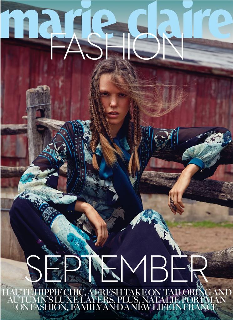 Josefien Rodermans wears gypsy inspired fashion in the editorial