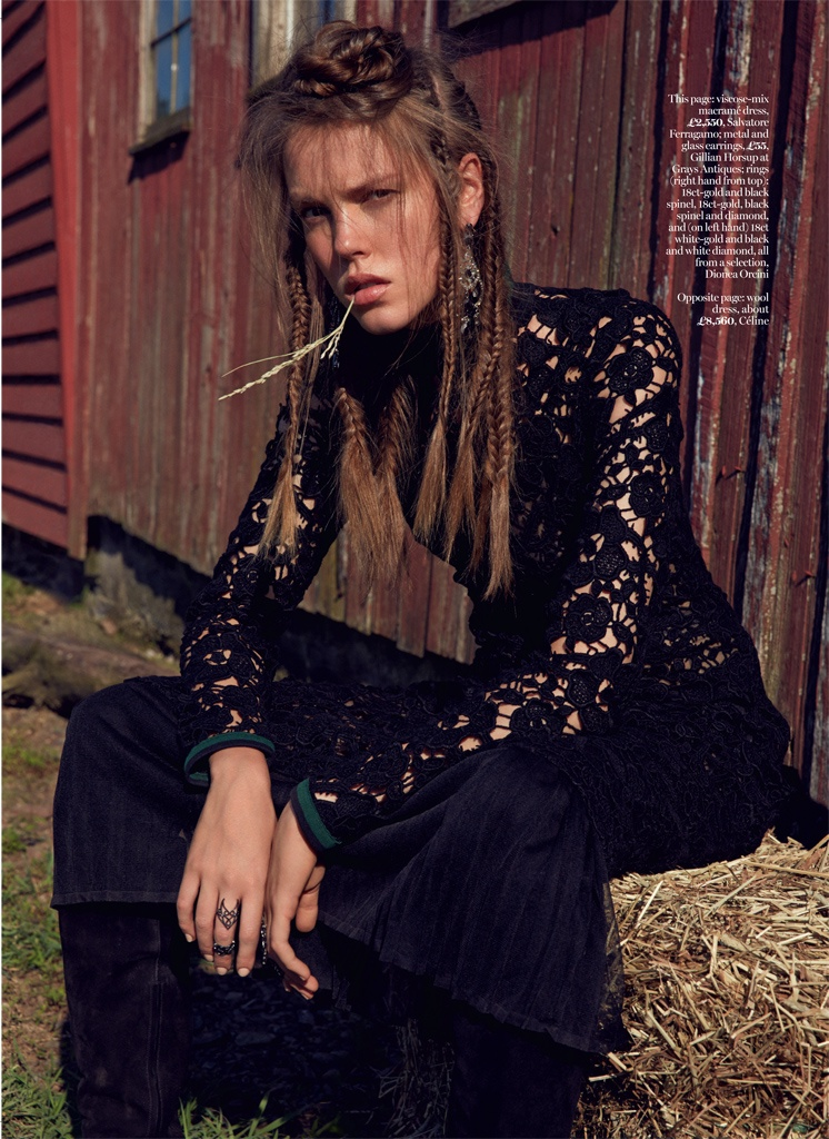 Traveller's Tales: Josefien Rodermans by David Roemer in Marie Claire UK