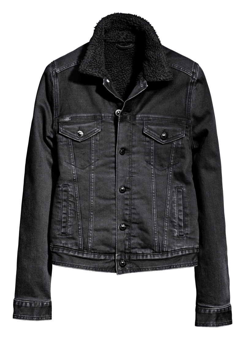 Denim jacket from H&M Re-Born