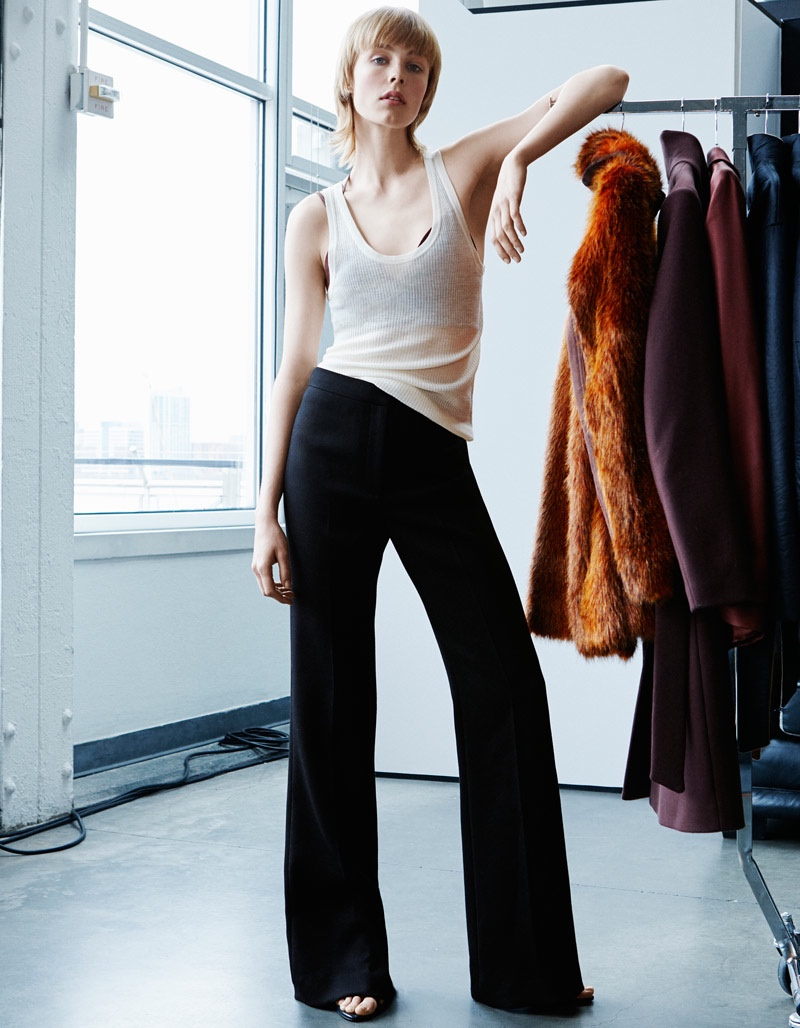 Edie Campbell Fronts H&M Studio Fall 2015 Campaign