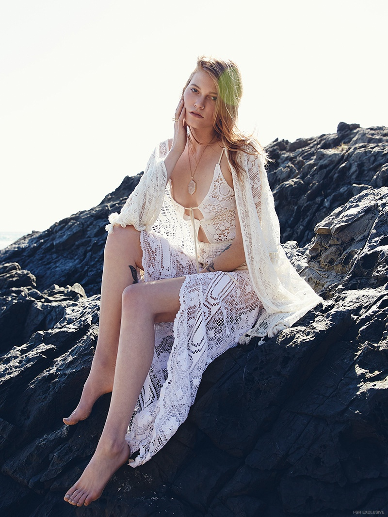 Exclusive: Harmony Rose by Wade Edwards in 'Lovely Lace'