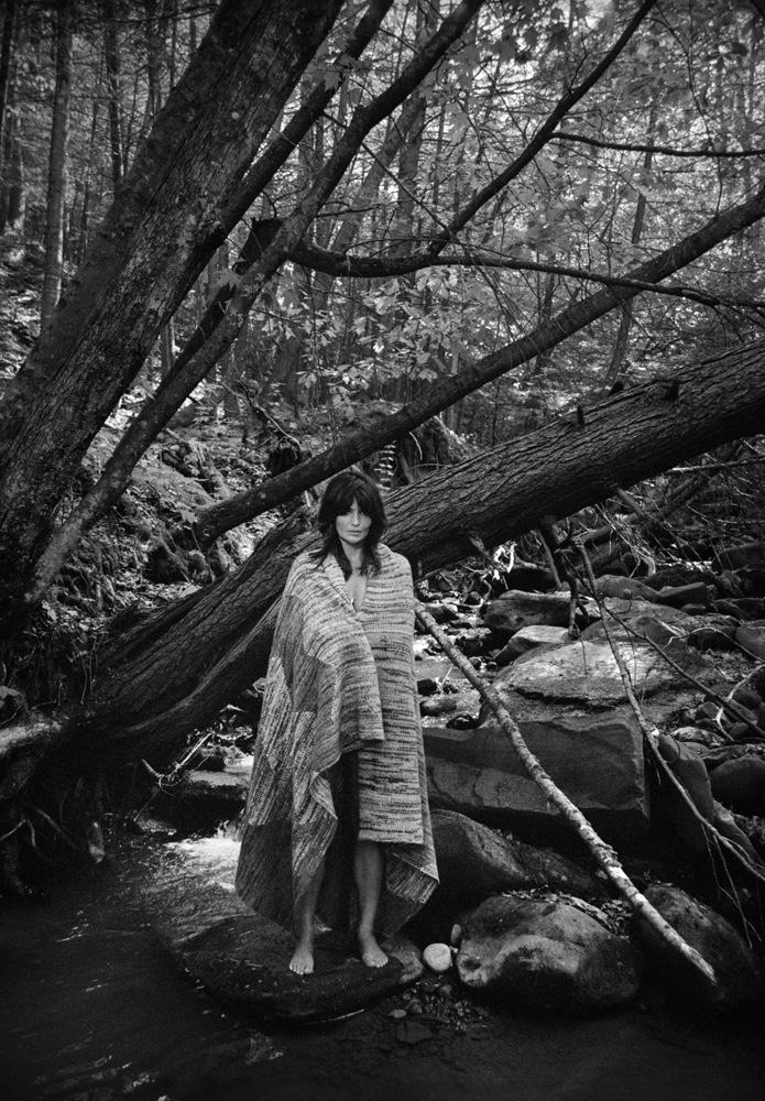 Helena Christensen is Boho Chic in PORTER by Yelena Yemchuck