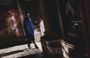 Othilia Simon Takes a Stroll in Hermes' Fall 2015 Campaign