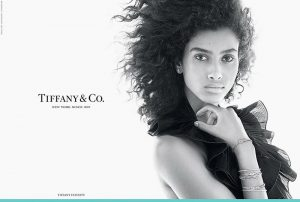 Imaan Hammam Joins Tiffany & Co's Fall 2015 Campaign