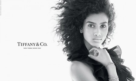 Imaan Hammam for Tiffany & Co. Fall 2015 Campaign