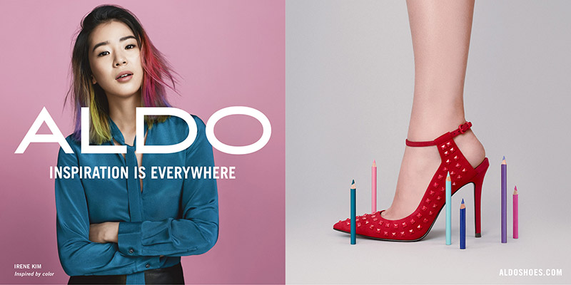 Irene Kim for ALDO fall-winter 2015 campaign