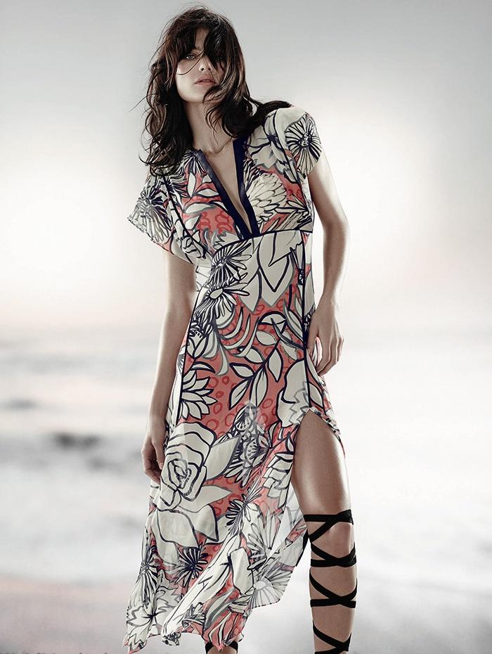 Isabeli Fontana Tufi Duek Spring Summer 2016 Campaign01
