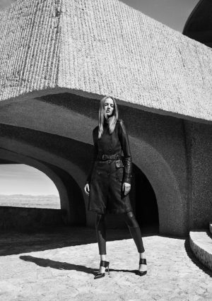 Daria Strokous Fronts J Brand's Fall 2015 Campaign