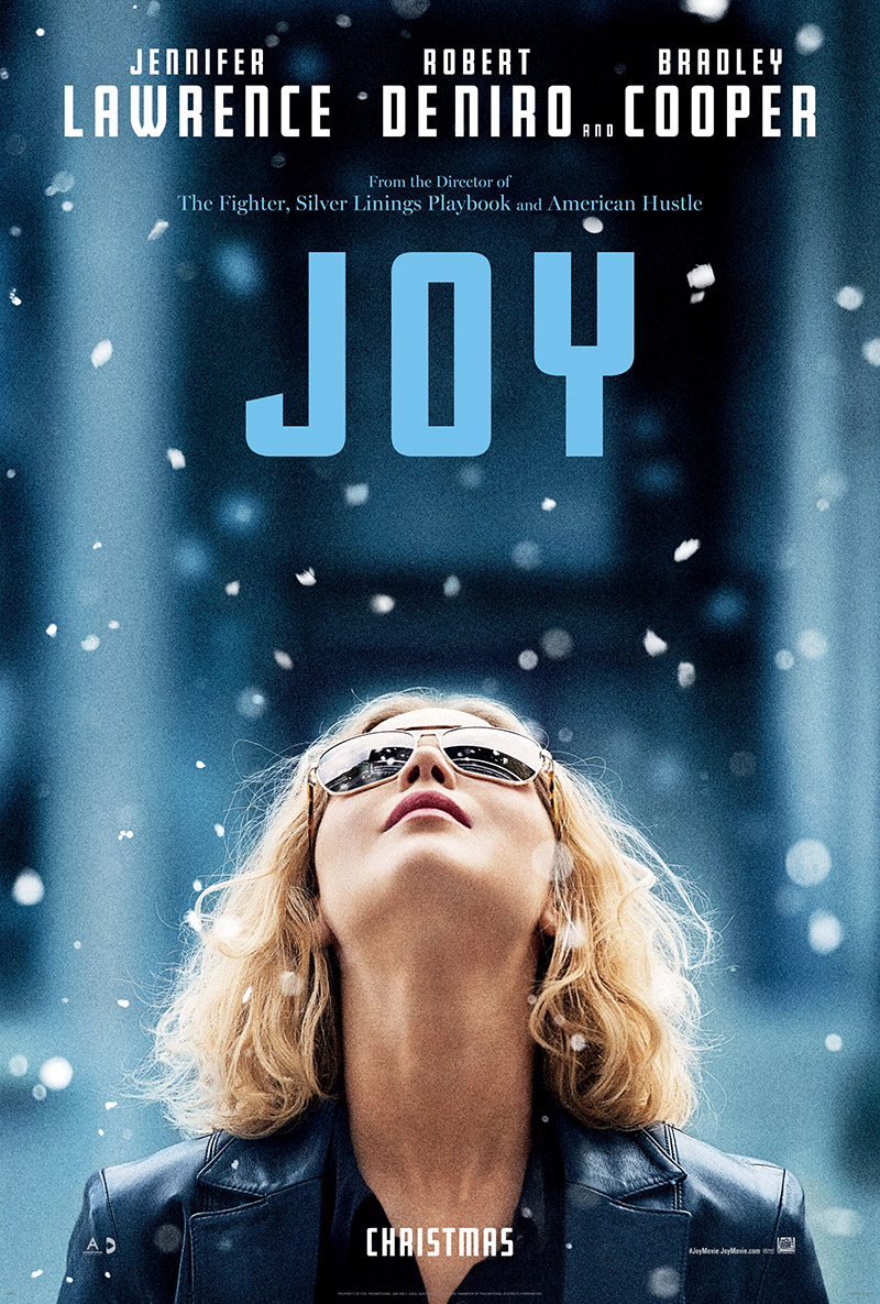 Jennifer Lawrence on JOY poster