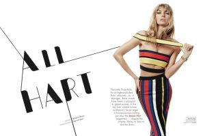Jessica Hart Lands the September Issue of L'Officiel Australia, Talks Business Ambitions