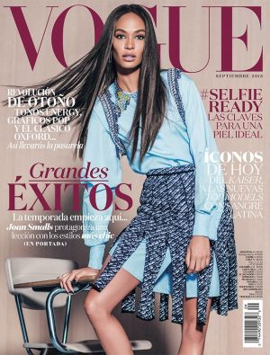 Joan Smalls Lands the September Cover of Vogue Mexico