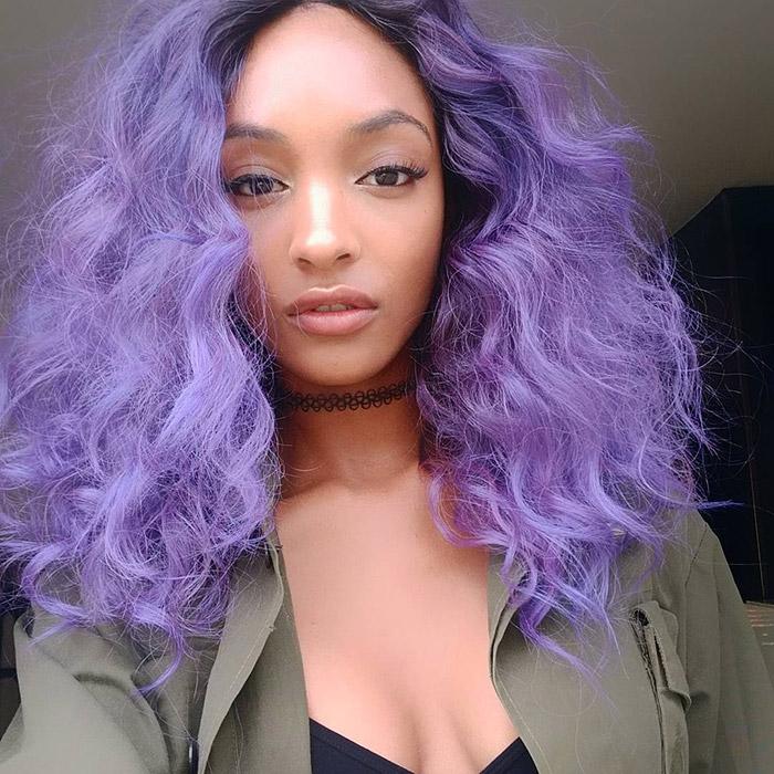 Rainbow Hair 7 Models With Rainbow Colors