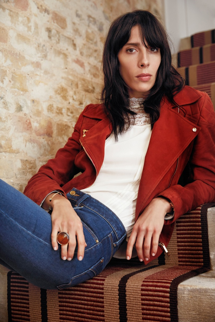Jamie Bochert Fronts Karen Millen's Fall 2015 Ads