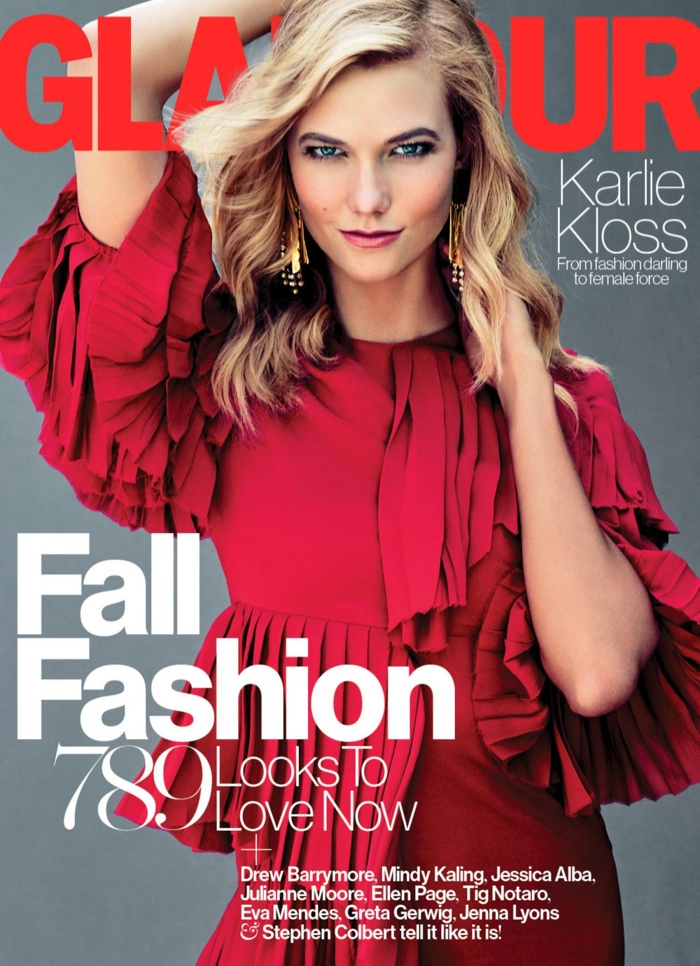 Karlie Kloss Continues to Dominate the Fashion Glossies with Glamour Feature