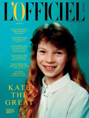 L'Officiel Spain Features a Young Kate Moss on its First Cover