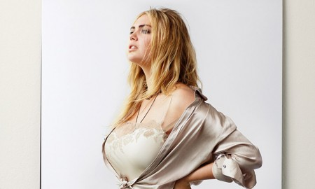 Kate Upton poses for CR Men's Book. Photo: Sebastian Faena
