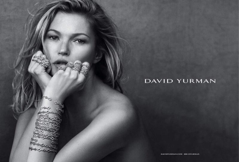 Kate Moss stars in David Yurman's fall-winter 2015 campaign