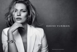 Kate Moss Stuns in Black & White for David Yurman Fall 2015 Ads