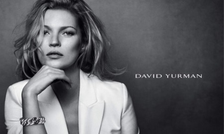 Kate Moss stars in David Yurman's fall-winter 2015 campaign