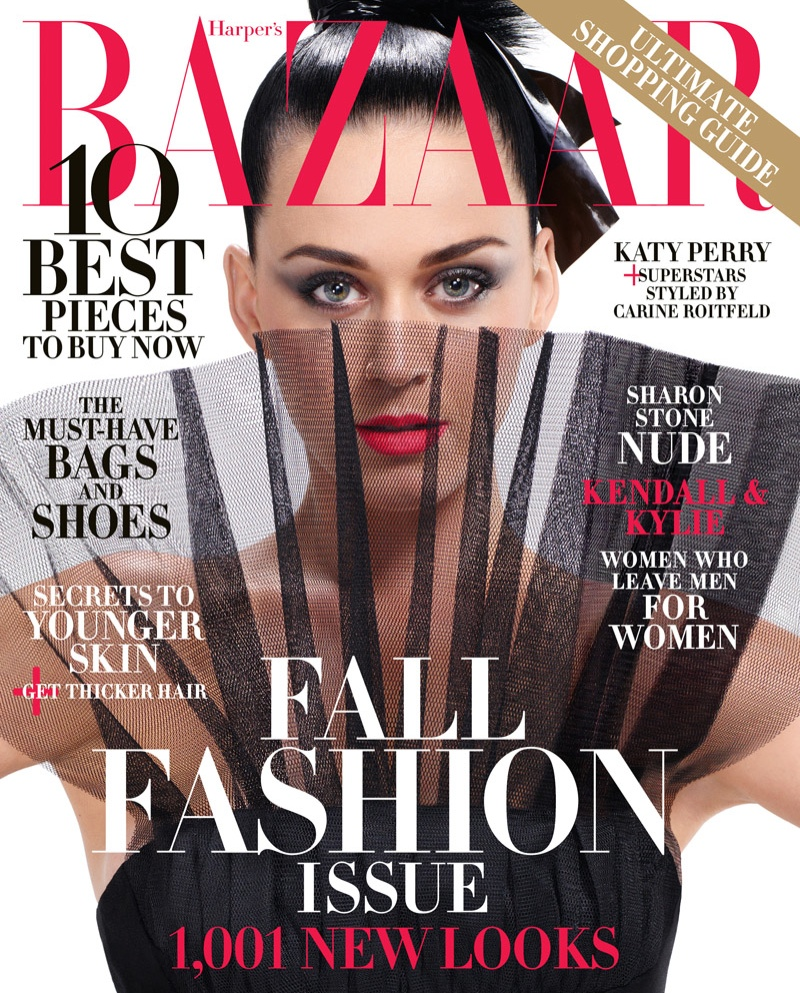 Katy Perry For Harper 39 S Bazaar September 2015 Cover Photos