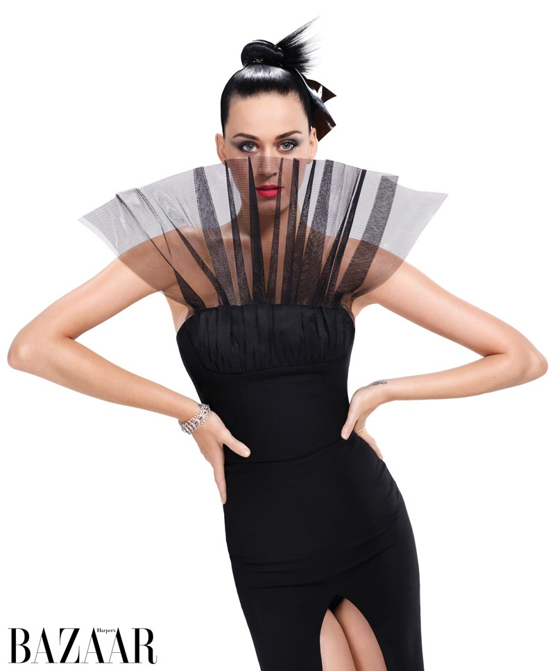 Katy Perry Harpers Bazaar September 2015 Cover Photoshoot02